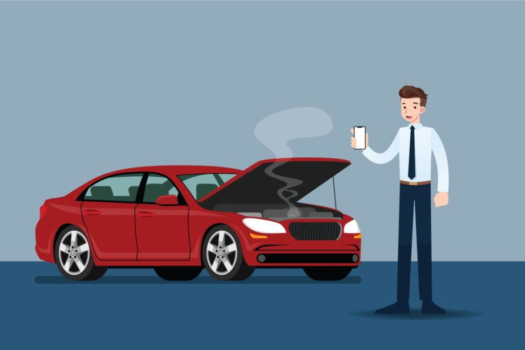 roadside assistance illustration